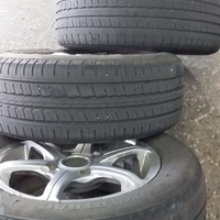 Four 14 inch Rim and Tyres
