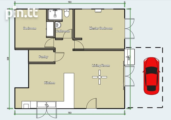 Charlieville 2 Bedroom Apartment-2