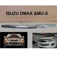 ISUZU D- Max Front Eyebrow UPPER LINE Grille Grill Chrome 2012-2016