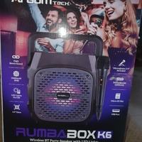 Wireless bt party speaker with led lights....new