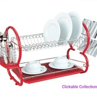 Kennedy's Home Collection 2 Layer Dish Rack
