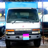 Mitsubishi 10 ton enclosed truck