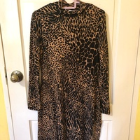 Warehouse Leopard Print Dress Size 12