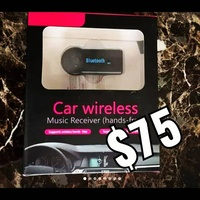Bluetooth receiver with mic