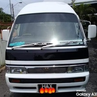Nissan E24 Black Band Maxi Taxi. TD27 Turbo Diesel Engine & Gearbox.