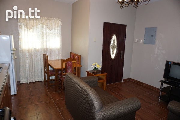 Fully Furnished Piarco One Bedroom Apartment-7