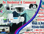 CCTV, Burglar Alarms, Access Control, Intercom Systems