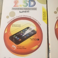 Tempered Glass Screen Protector for Samsung 6, Nexus 5, BB Z10, IP5 and IP6.