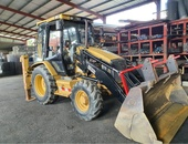 CAT Backhoe C428