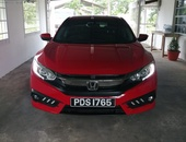 Honda Civic, 2017, PDS