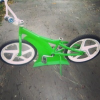 Green drop low bike