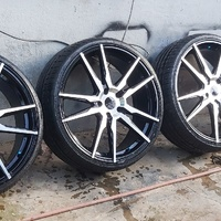 Rims and new tyres