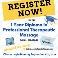1 Year Diploma in Professional Therapeutic Massage Program