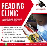 Remedial Reading- In-home and online