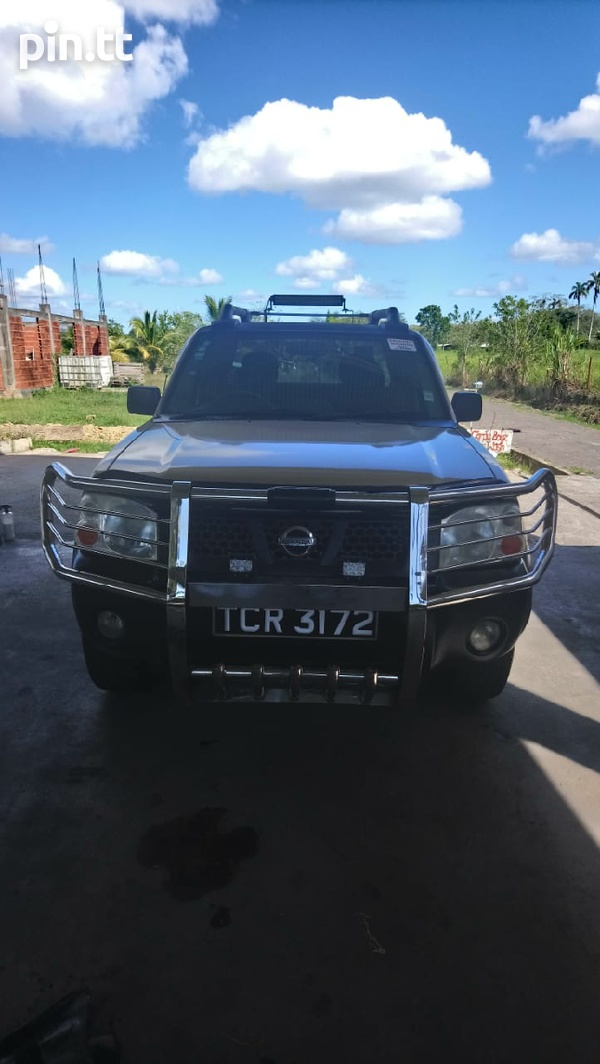 Nissan Frontier, 2010, Tcr-6