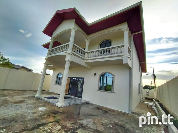 Unfurnished Chaguanas 2-Storey, 4 Bedroom House-1