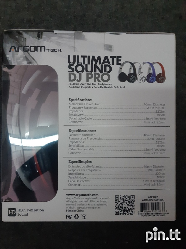 Ultimate Sound DJ Pro headset-2