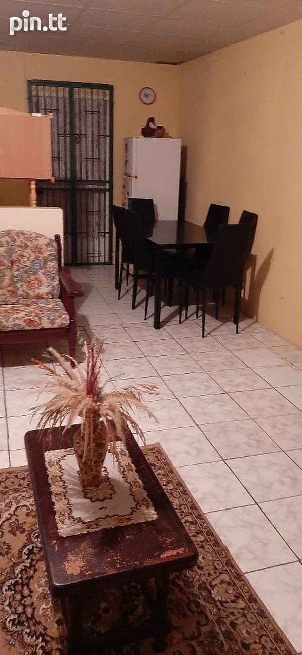 TUNAPUNA FURNISHED 1 BEDROOM APARTMENT-3