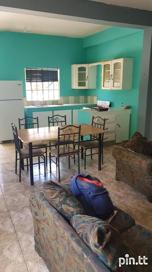 Watts Trace, Curepe 1 Bedroom 1 Furnished Apartment-1