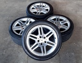 17 inch Mercedes-Benz AMG rims and tyres