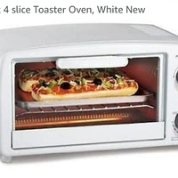 Toaster oven....new