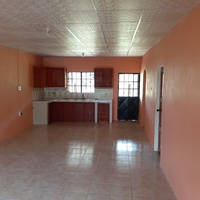 Unfurnished 2 bedroom appartment in Piarco