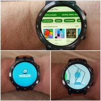 LEM12 3GB 32GB Android 7.1 Smartwatch with Google Play Store Internet