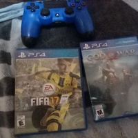 Ps4 controller and games