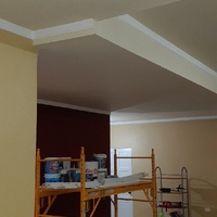 gypsum ceiling painting home renovation