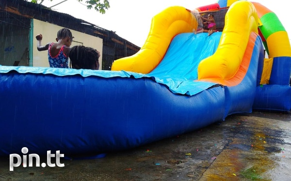 Wet/Dry bounce house and water slide-7