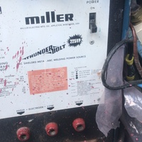 Welding Plan Miller Thunder Bolt 225vp