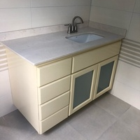 Hand crafted vanity