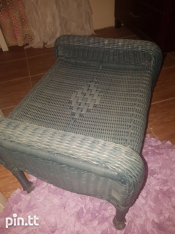 Chair and foot stool-2