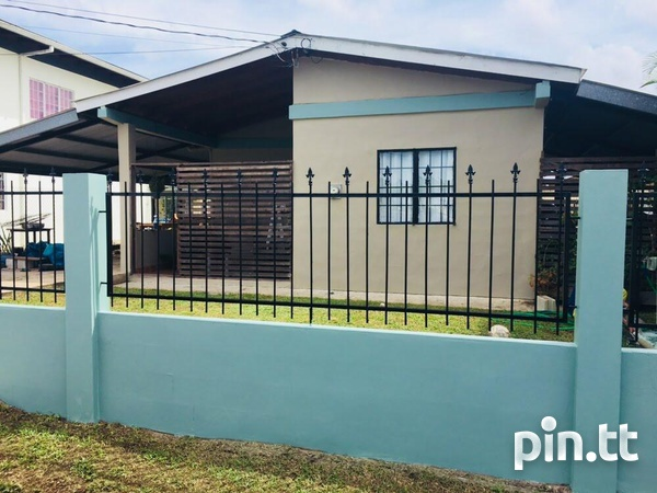 Roystonia Couva House with 2 bedrooms-3