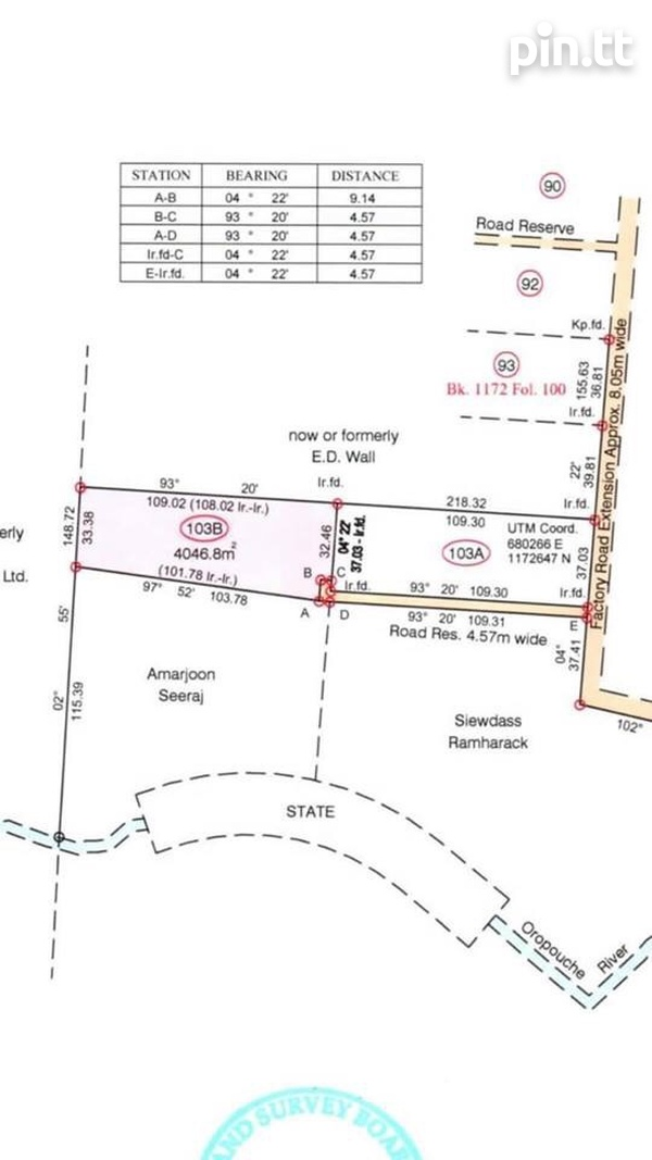 INVESTMENT ACRE, LOT 103B, FACTORY ROAD EXT, PIARCO