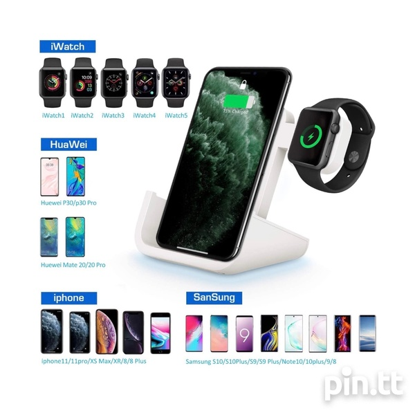 2 In 1 Wireless Charging Station.-6