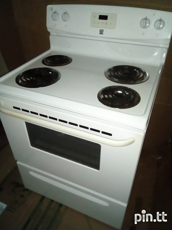 Electric Stove and Hood-1