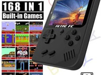 Handheld Game Consoles 168 in 1