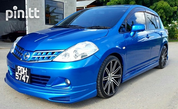 2008 - 2012 Nissan Tiida Hatchback Body Kit-5