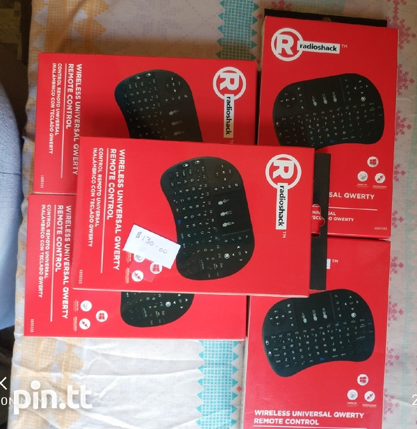 Wireless remote and mouse-3