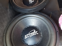 15inch atomic subs..5000rms
