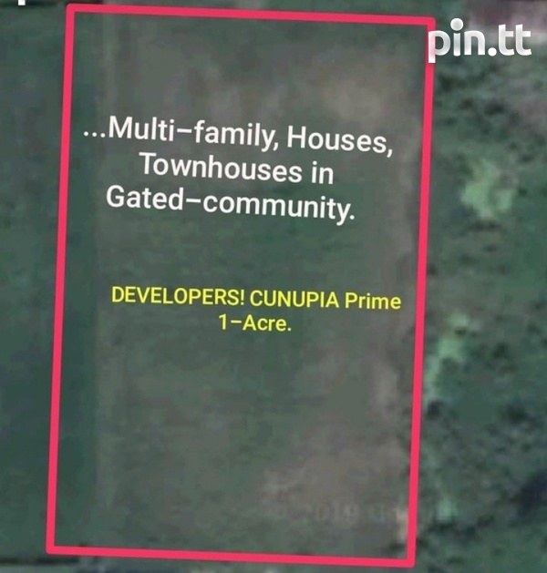 Cunupia Land 1 Acre Development Parcel-1