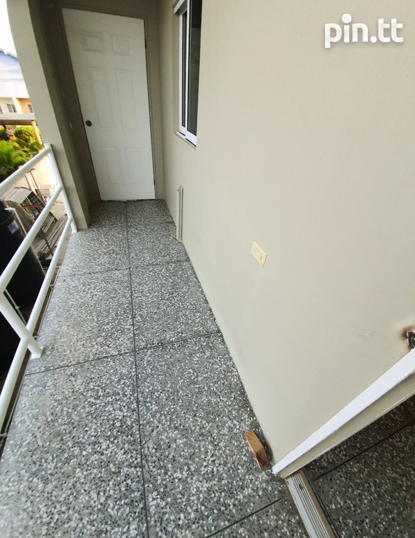 UNFURNISHED TWO BEDROOM ST MARY'S, BEAUCARRO 5 MINS TO CHAGUANAS 743-8020-6