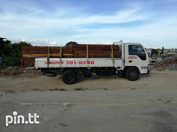 Transport for hire with Isuzu 3 ton truck and 1-1/4Ton Pickup.-6