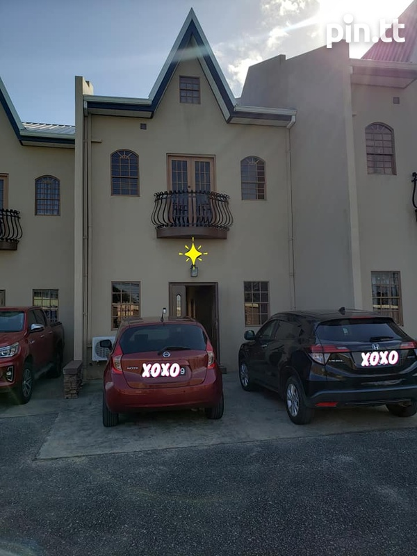Piarco 3 Bedroom Unfurnished Townhouse - Read Description-1