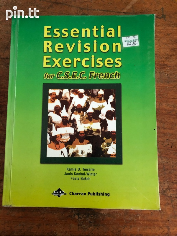 Essential Revision Exercises For CSEC French-1