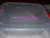 Large and small storage containers