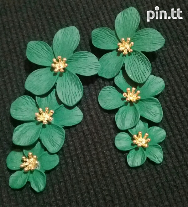3 tier flower earring-3