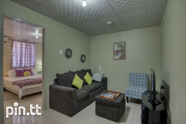 Unfurnished Cozy 2 Bedroom Piarco Apartment-3
