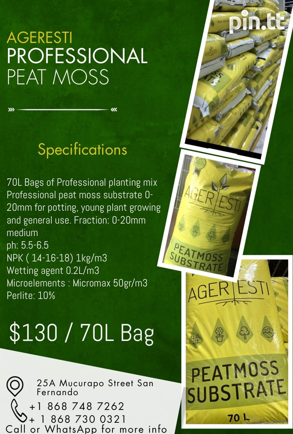 Professional Mix Peat Moss-1